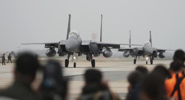 """Nordkorea hotar med """"superkraftig"""" attack"""