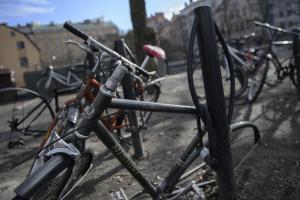 Vågar göteborgarna parkera sina cyklar i centrum?