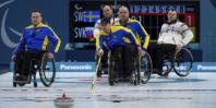 Curlinglaget vann näst sista matchen