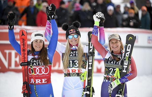 Vonn vann i Åre - men Goggia stora segrarinnan