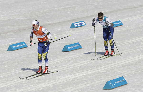 Silver till Modin i Paralympics