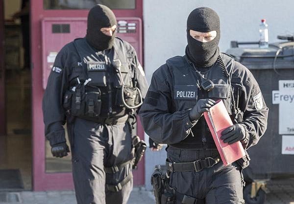 Största tyska insatsen mot trafficking någonsin