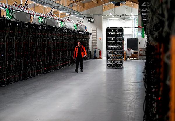 Bitcoin-kuppens huvudman smet till Sverige