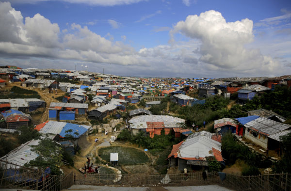 Elefanter hotar världens största flyktingläger