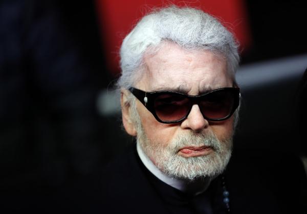 Modeskaparen Karl Lagerfeld död