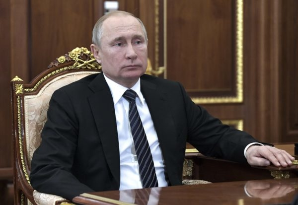 Världspolitik och sopor teman i Putins tal
