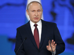 """Putin lovar """"bättre tillvaro"""" i Ryssland i år"""