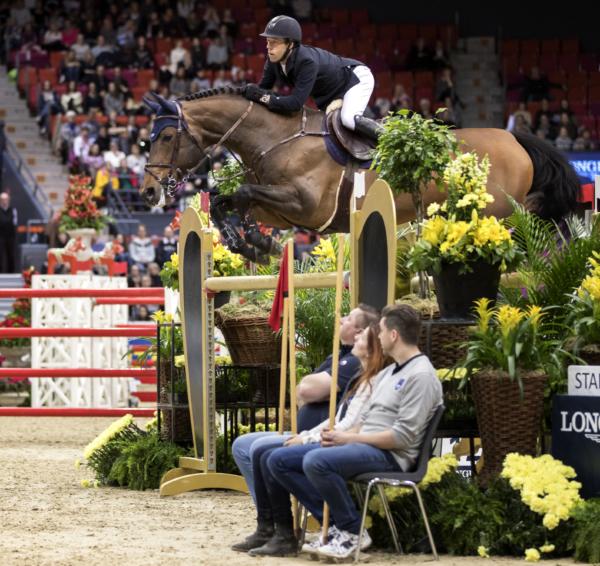 Ny teknologi vid Gothenburg Horse Show
