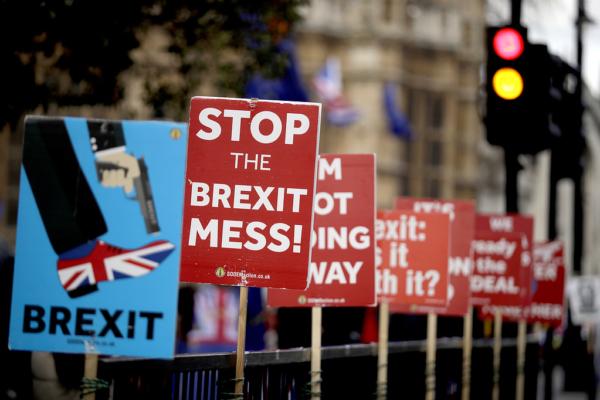 Brexitministern: Kris för Storbritannien