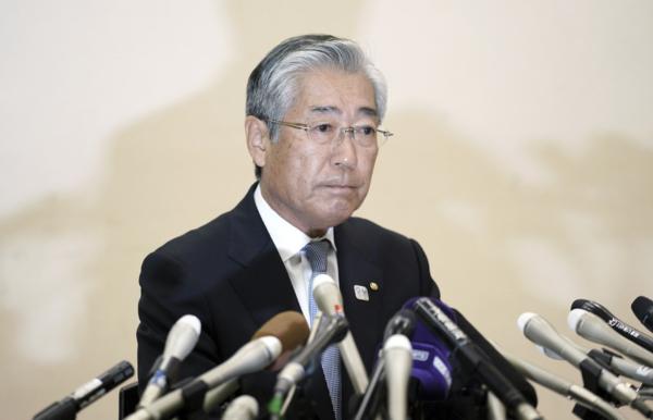 Chefen för OS i Tokyo avgår