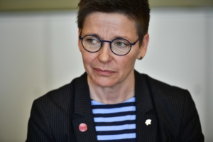 Ann-Sofie Hermansson åtalad för grovt förtal
