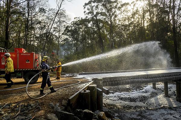 Australien: Skyfall släcker bränderna – men blir ny fara