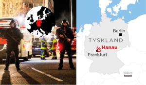 Tyskland: Nio döda efter skjutning i Hanau