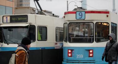 Spårvagnarna rullar trots brist på chaufförer