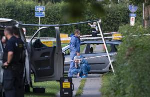 Fem svenskar åtalas för dubbelmord i Danmark