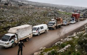 Flykten från syriska krigszonen fortsätter