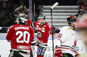 Ekbom ledde Frölunda till viktig seger