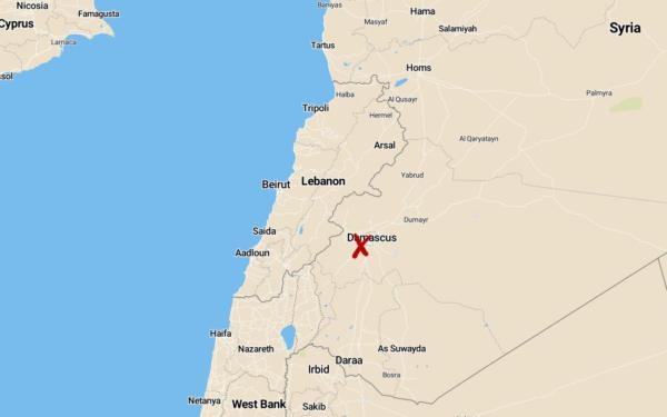 Sju döda i Damaskus efter robotattack — Israel misstänks