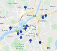 Kartläggning av rån i Göteborg