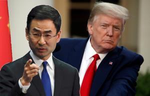 Kina svarar Trump: Öppna lögner