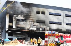 25 döda i brand på byggarbetsplats i Sydkorea