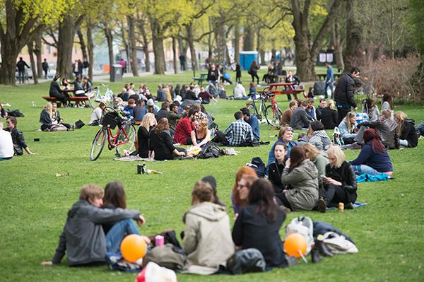 """Valborg i Göteborg under corona: """"Fira förnuftigt"""""""